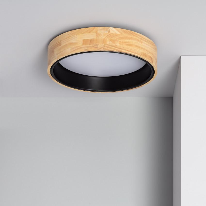 Plafón LED Circular CCT Dari 15W