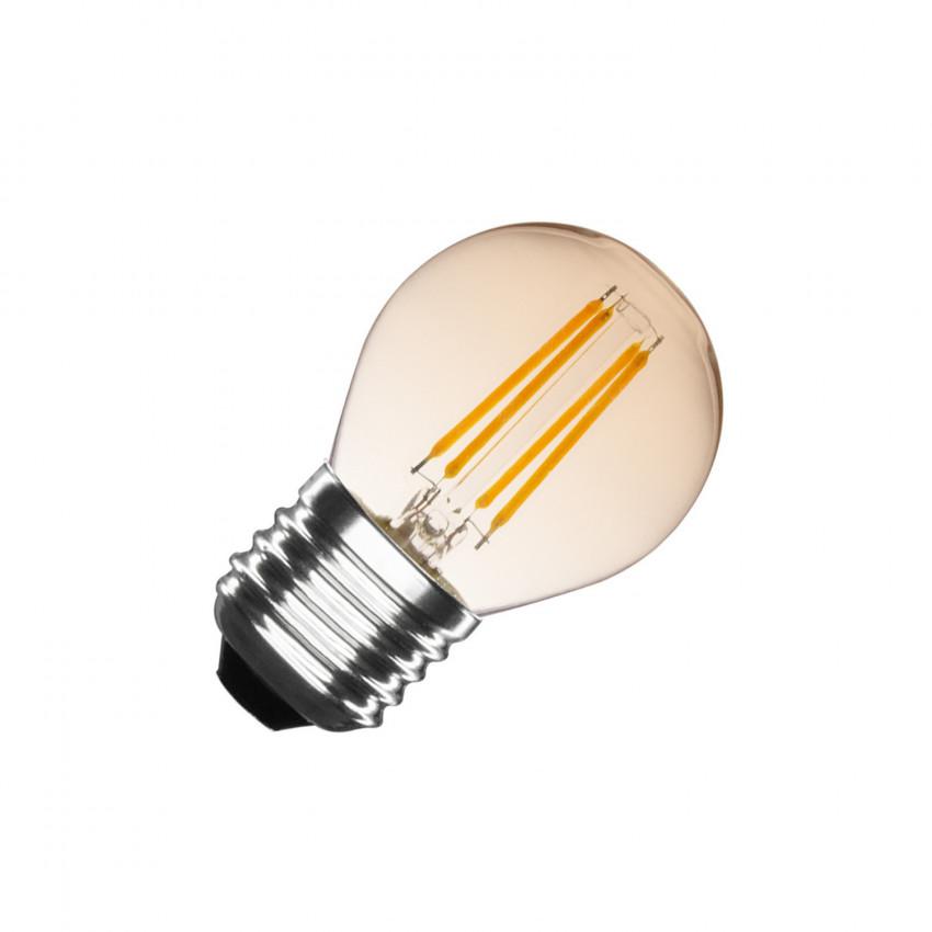 Bombilla LED E27 Filamento Gold Small Classic G45 4W