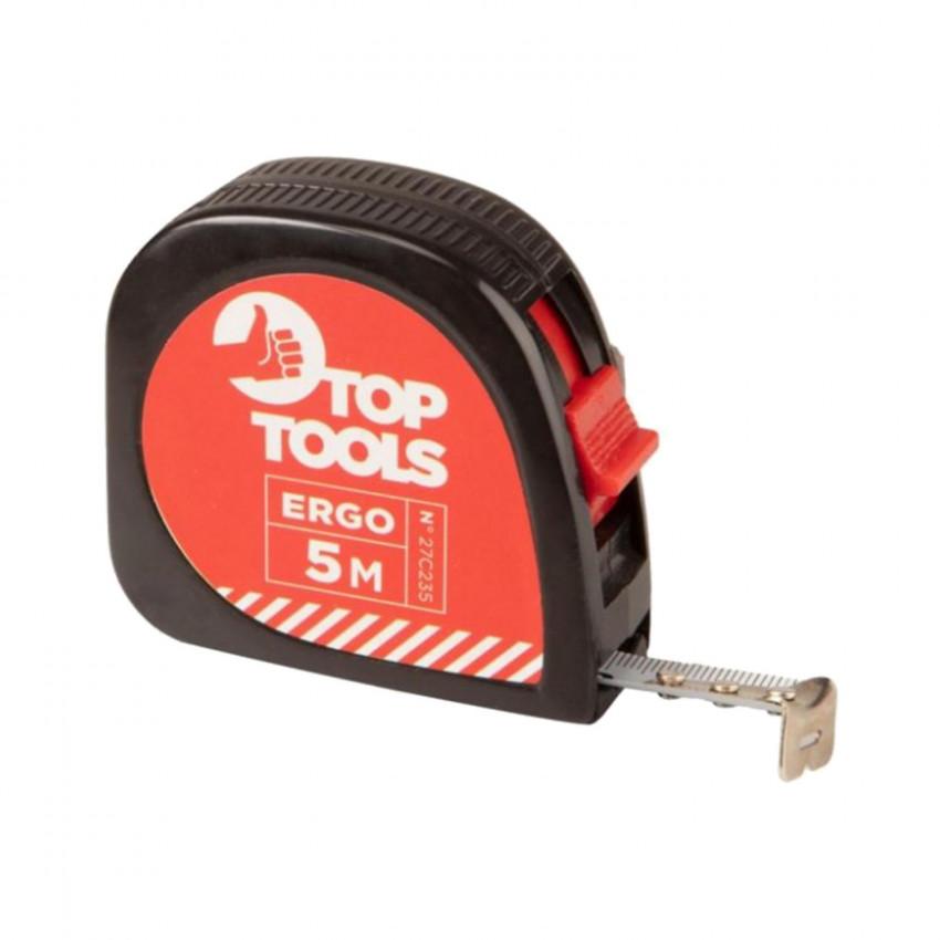 Fita Métrica Varicolor 5m TOP Tools