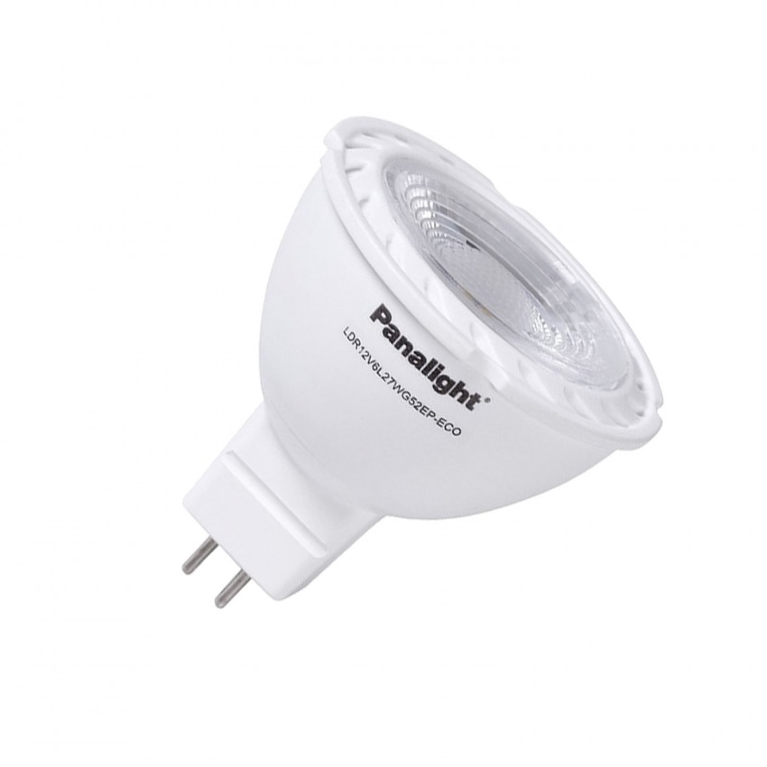 Bombilla LED GU5.3 MR16 12V DC PANASONIC PS Dicroica 38° 5W
