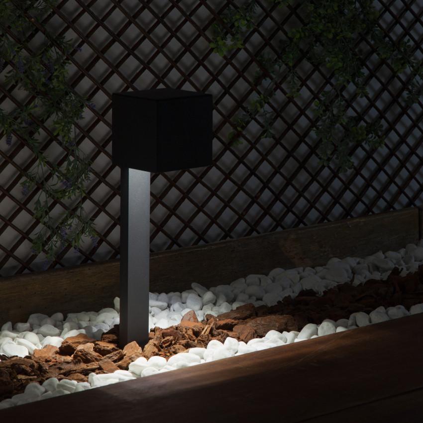 Baliza LED Solar Cairo con Detector de Movimiento Radar IP65 40cm