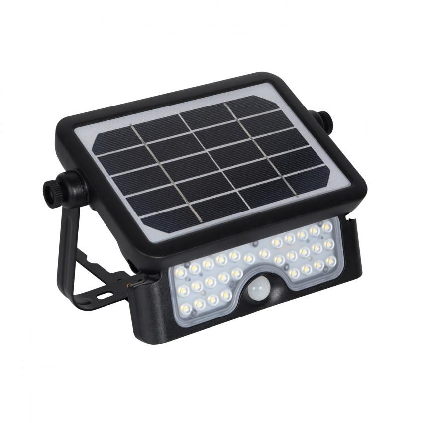 Foco Projetor LED Solar com Sensor de Movimento PIR 5W