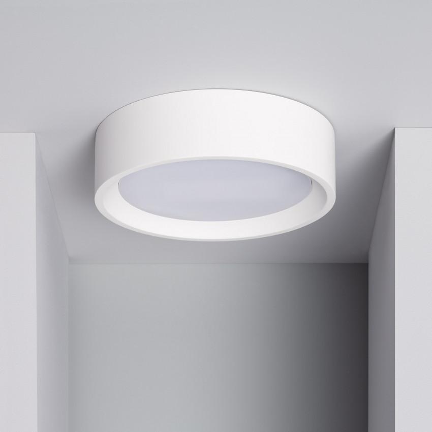 Plafón LED 12W Circular Onix de Yeso