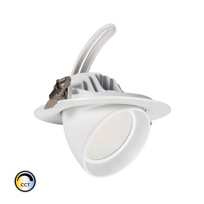 Foco Projector Direccionável Circular LED 38W SAMSUNG 125 lm/W LIFUD CCT Seleccionável Regulável