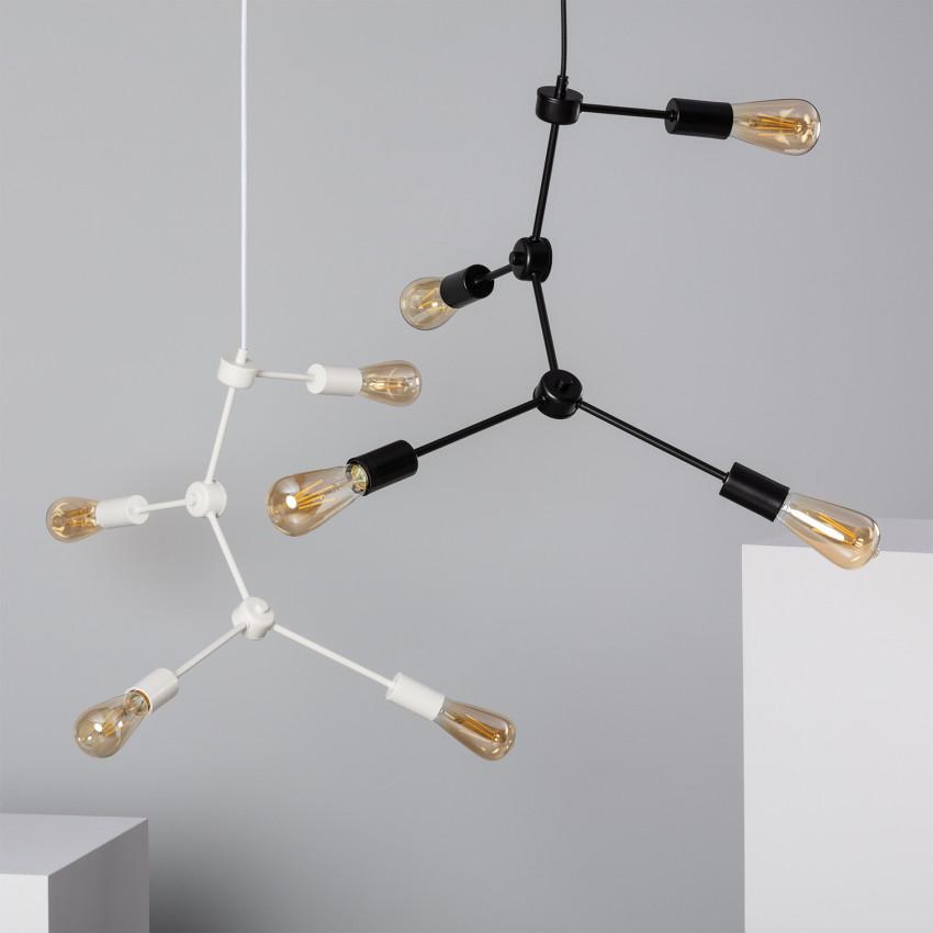 Lámpara Colgante Molecular