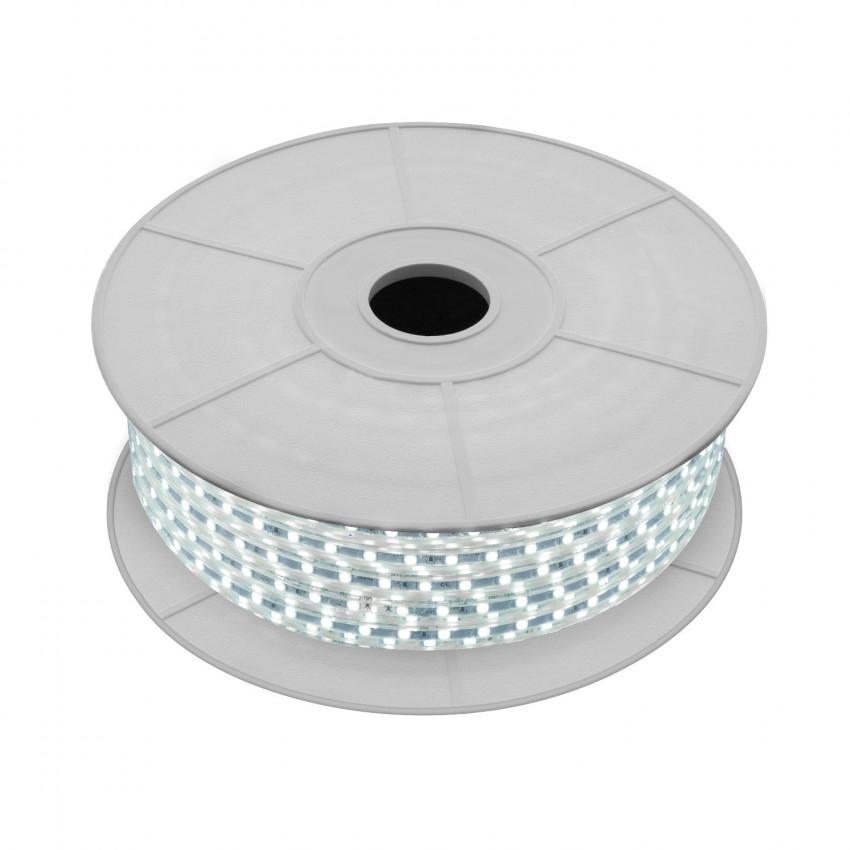 Rolo de Fitas LED 220V AC 120 LED/m Branco Frio IP65 Corte a cada 50 cm