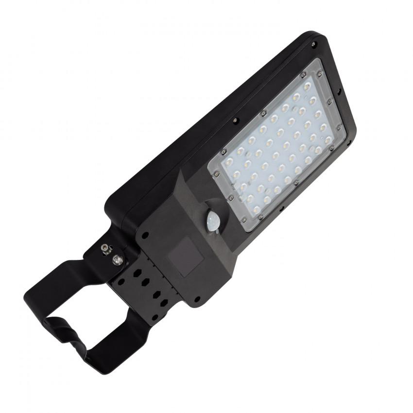 Luminária LED 10W Solar com Sensor de Movimento e Crepuscular
