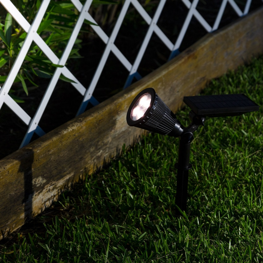 Focos LED de Fontes e Jardins