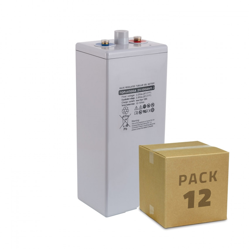 Kit Bateria Estacionária OPzV 2V