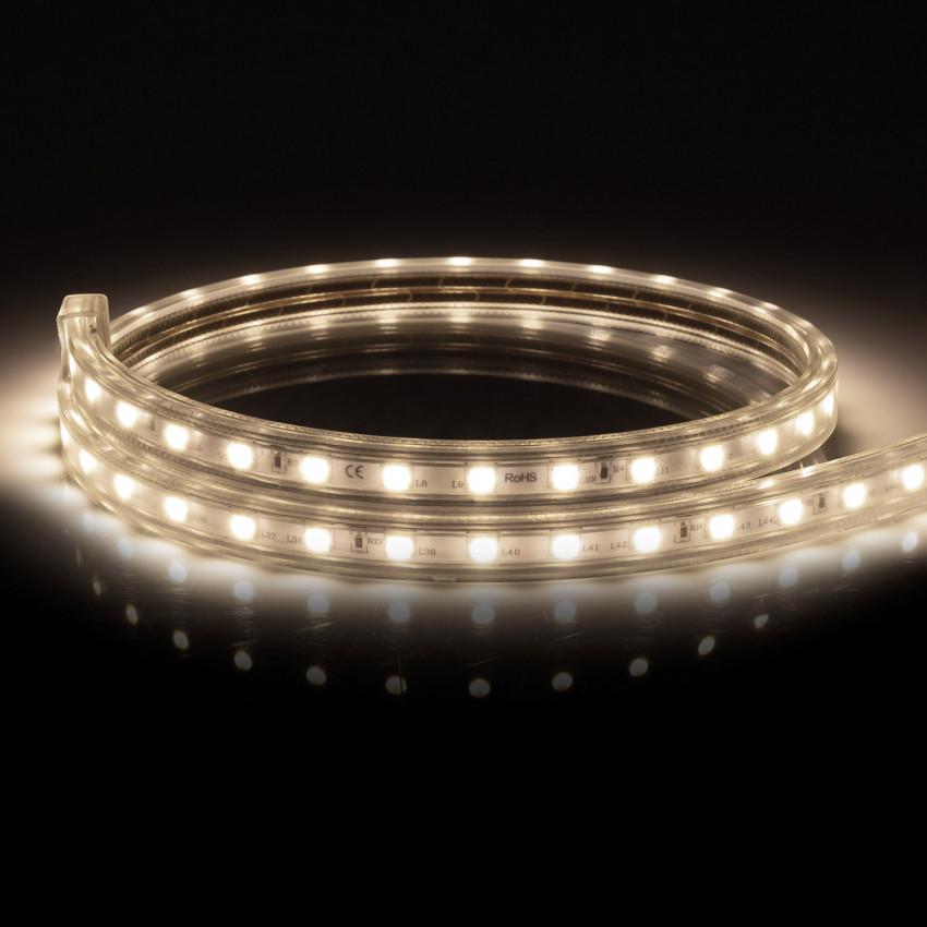 Fita LED Regulável 220V AC 60 LED/m Branco Neutro IP65 à Medida