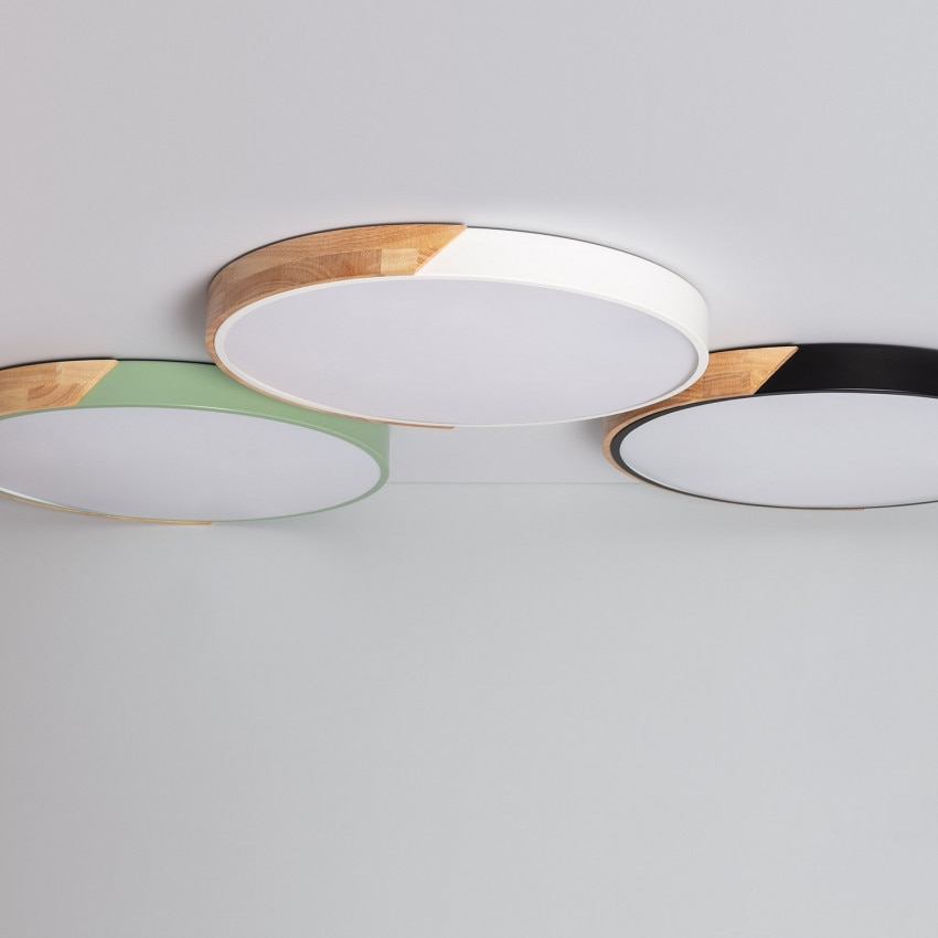 Plafón LED Circular CCT Semi-Dari 36W