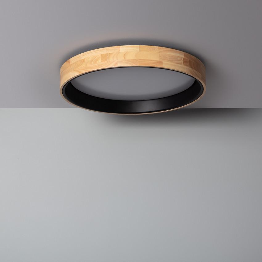Plafón LED Circular CCT Dari 30W