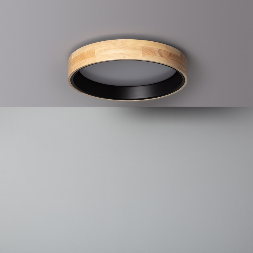 Plafón LED Circular CCT Dari 20W