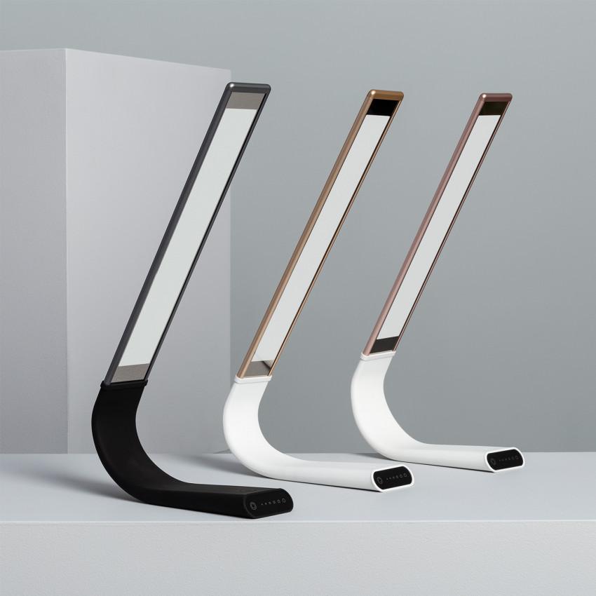 Lámpara de Escritorio LED Flexible 6W con Batería
