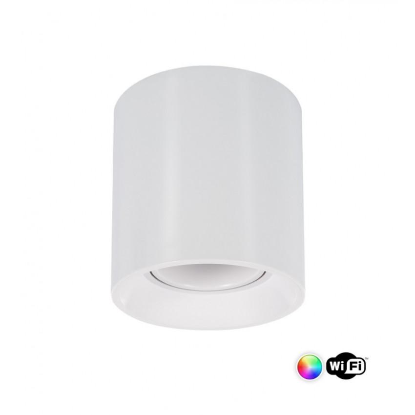 Aplique Techo Cuarzo PC Blanco Smart WiFi Regulable RGBW 4W