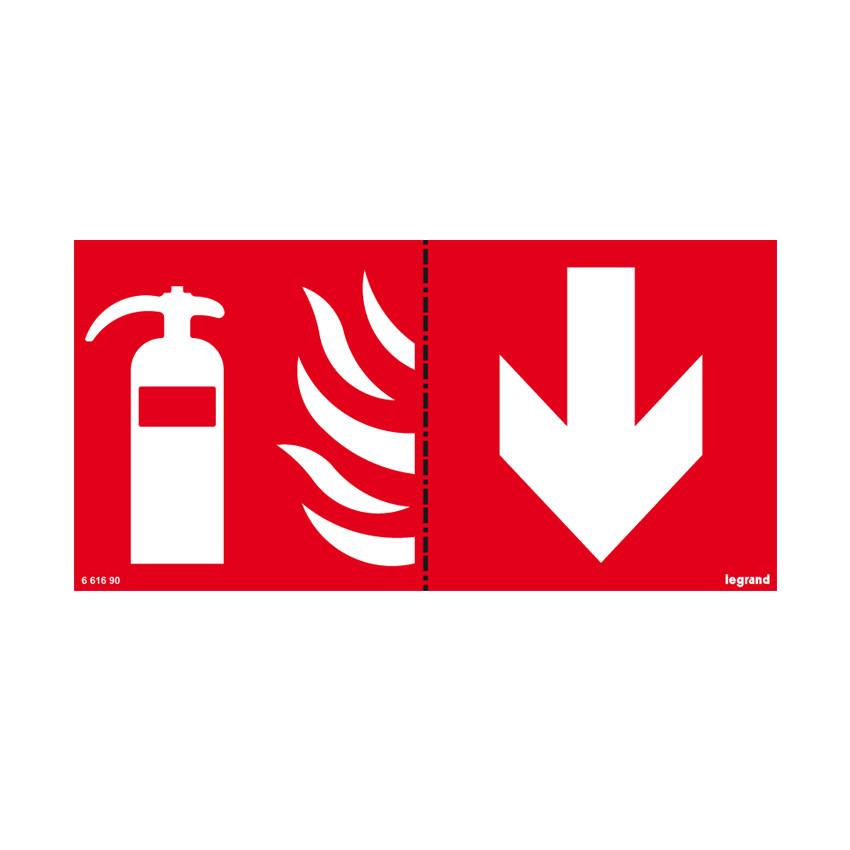 Etiqueta de Señalización Extintor LEGRAND 661690