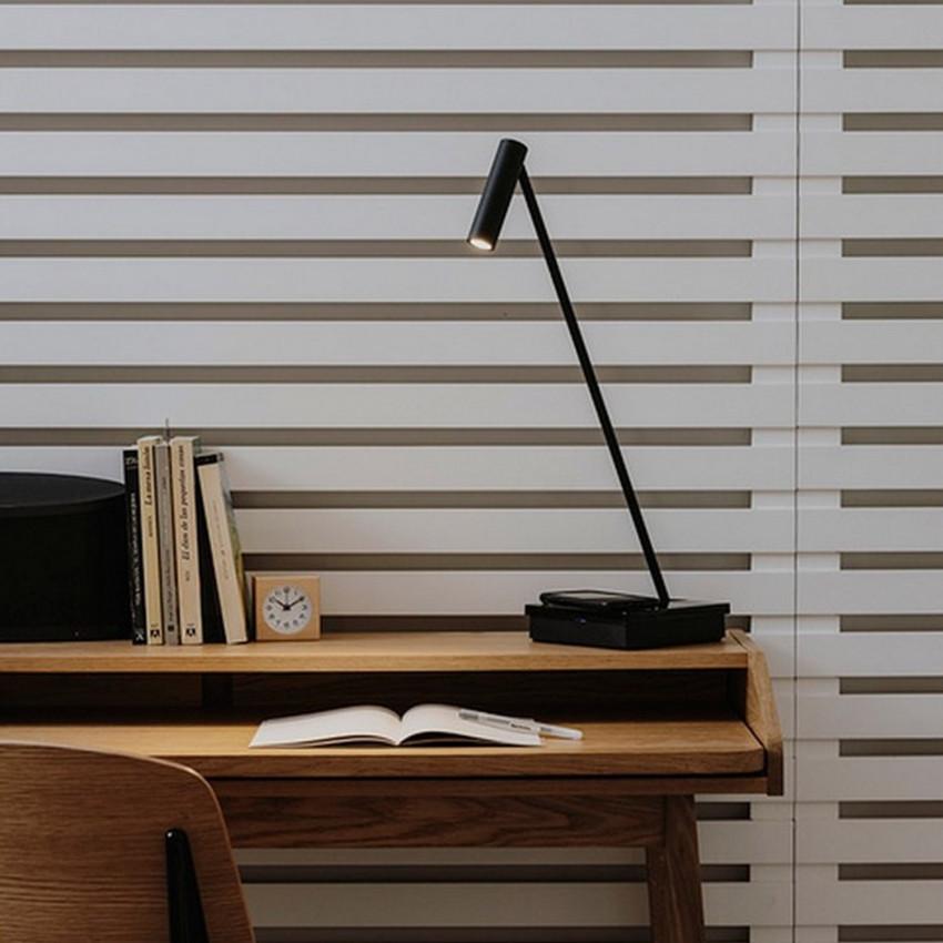 Lámpara de Mesa LED Elamp Negro 2.2W LEDS-C4 10-7606-05-05