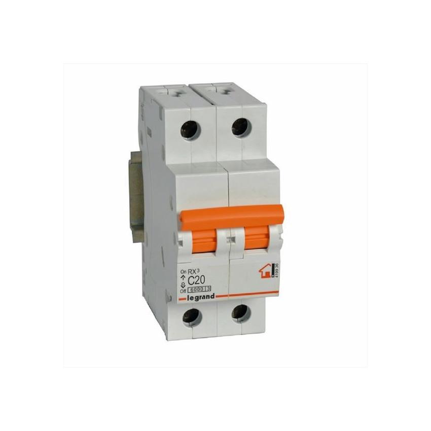 Interruptores Magnetotérmicos RX3 2P 230/400 V~ Curva C