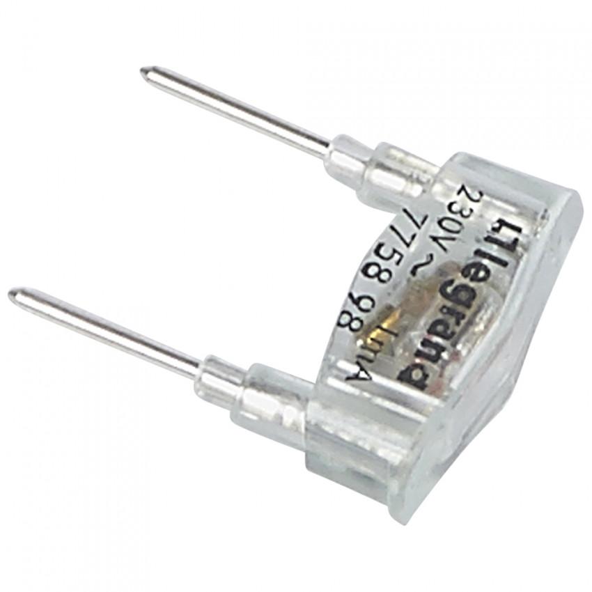 Lámpara de Recambio Plexo para Función Piloto 230V 1mA LEGRAND 069498