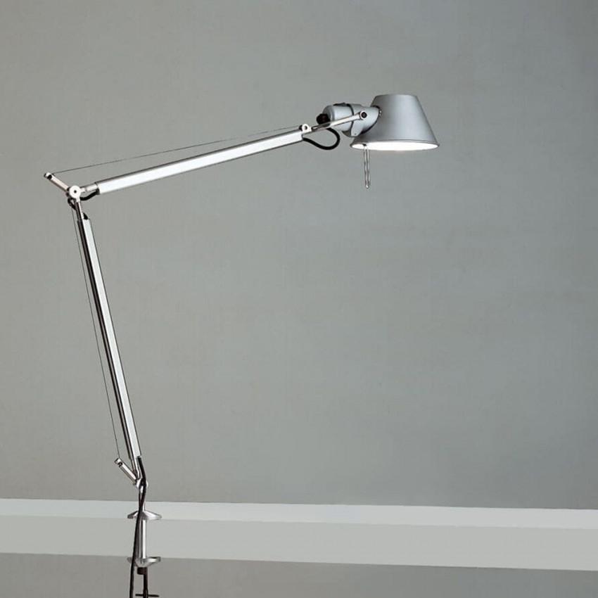 Lámpara de Mesa con Pinza Tolomeo ARTEMIDE