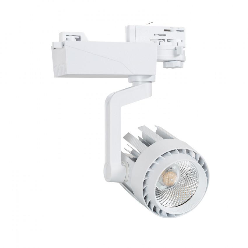 Foco LED Dora 30W Branco para Carril Trifásico