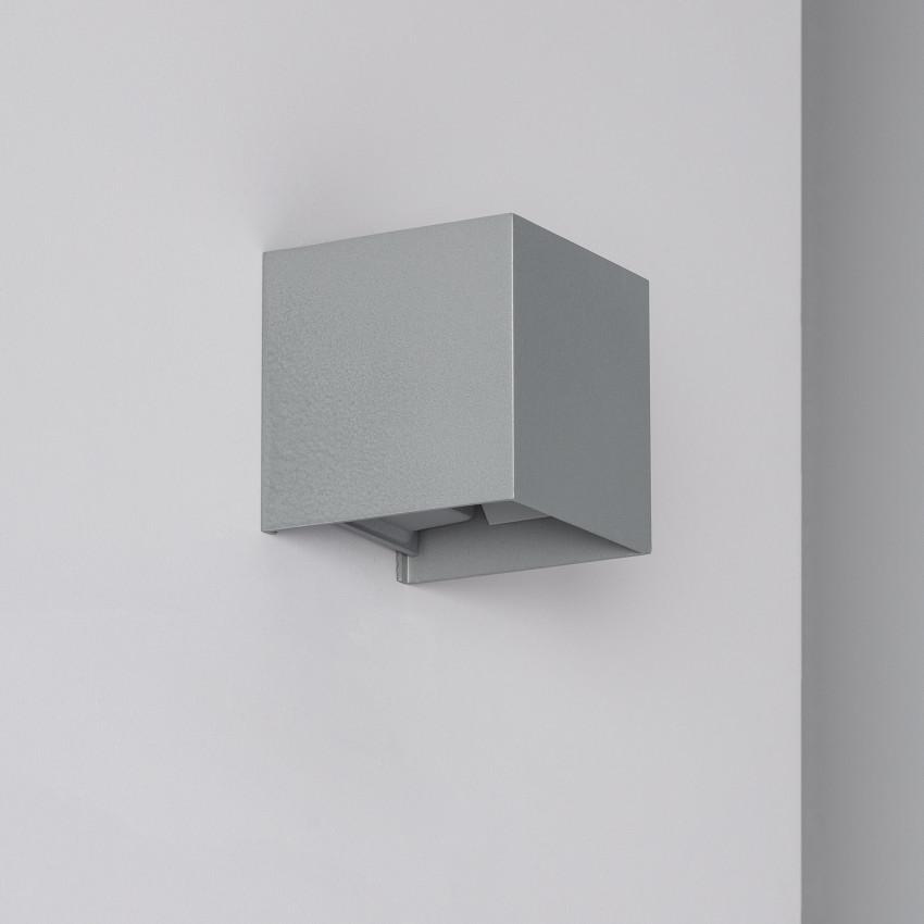 Aplique LED Eros 6W Gris Iluminación Doble Cara