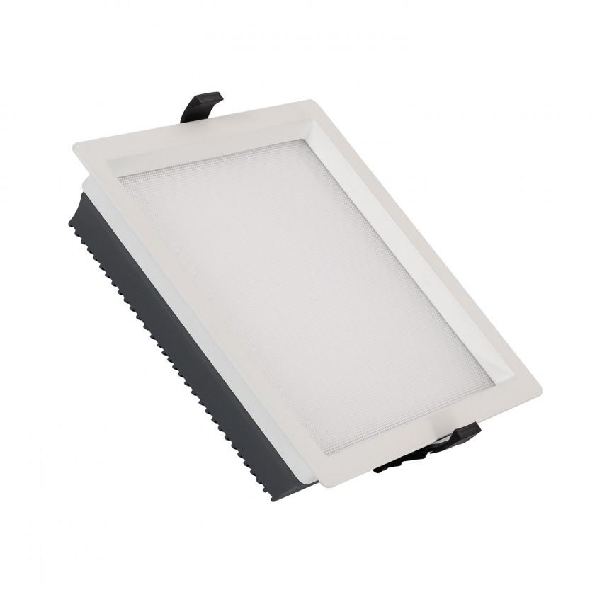 Downlight LED 30W SAMSUNG New Aero Slim Quadrado 130 lm/W (UGR17) LIFUD Corte 210x210  mm