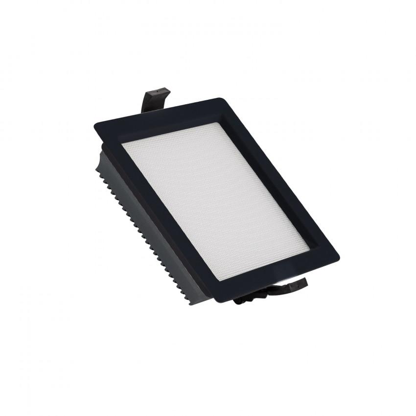 Downlight LED 15W SAMSUNG New Aero Slim Quadrado 130 lm/W (URG17) LIFUD Preto Corte 135x135 mm