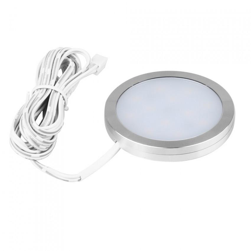 Luz LED 3W 12V DC Adhesiva con Conector Rápido
