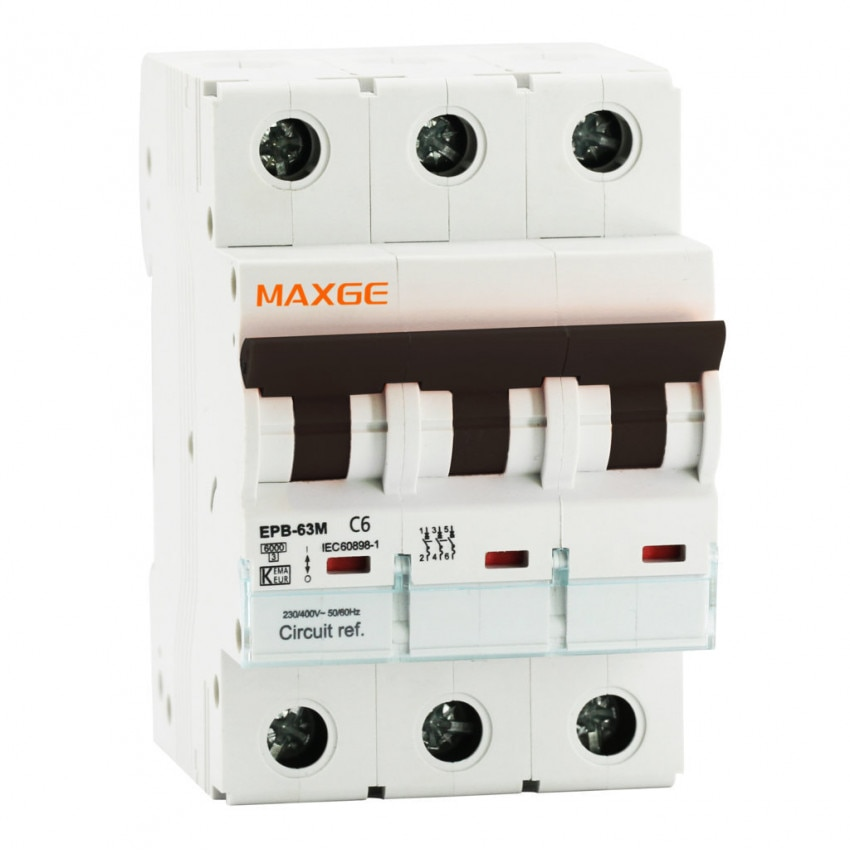 Interruptor Automático Industrial MAXGE 3P-10kA 10-63A