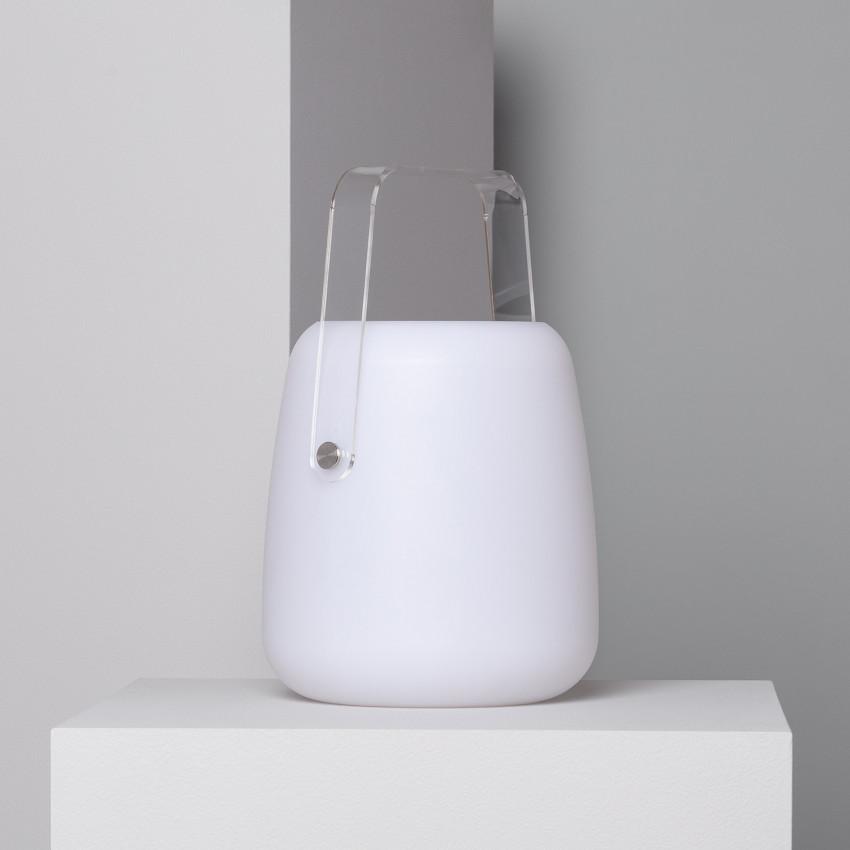 Lámpara de Mesa LED Solar RGB Portátil Sellik para Exterior con Batería Recargable