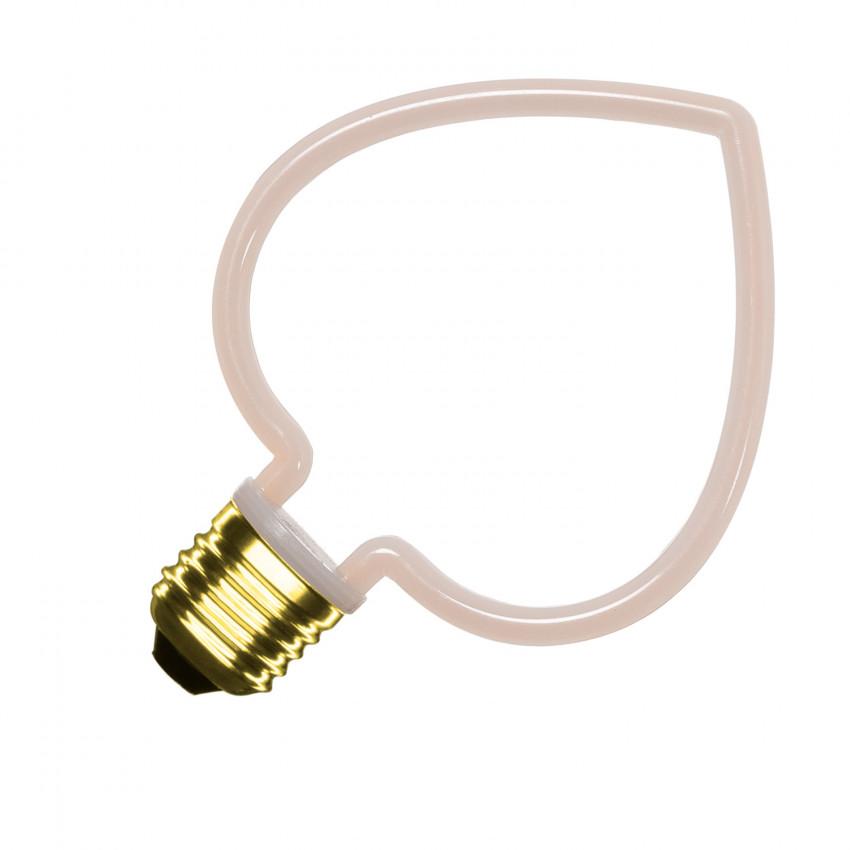 Bombilla LED Filamento Neón Heart 4W