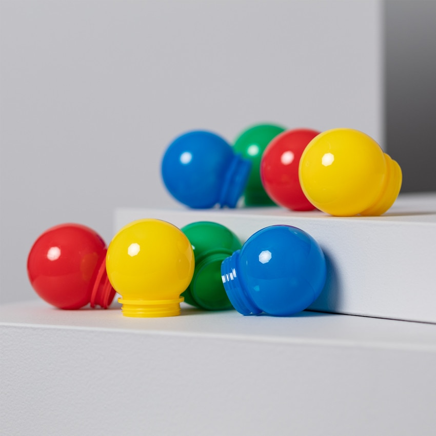 Recambio Bolas para Guirnalda Multicolor 8 unidades