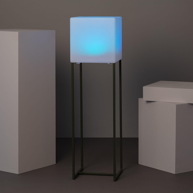 Lámpara de LED de Pie Solar Tiber