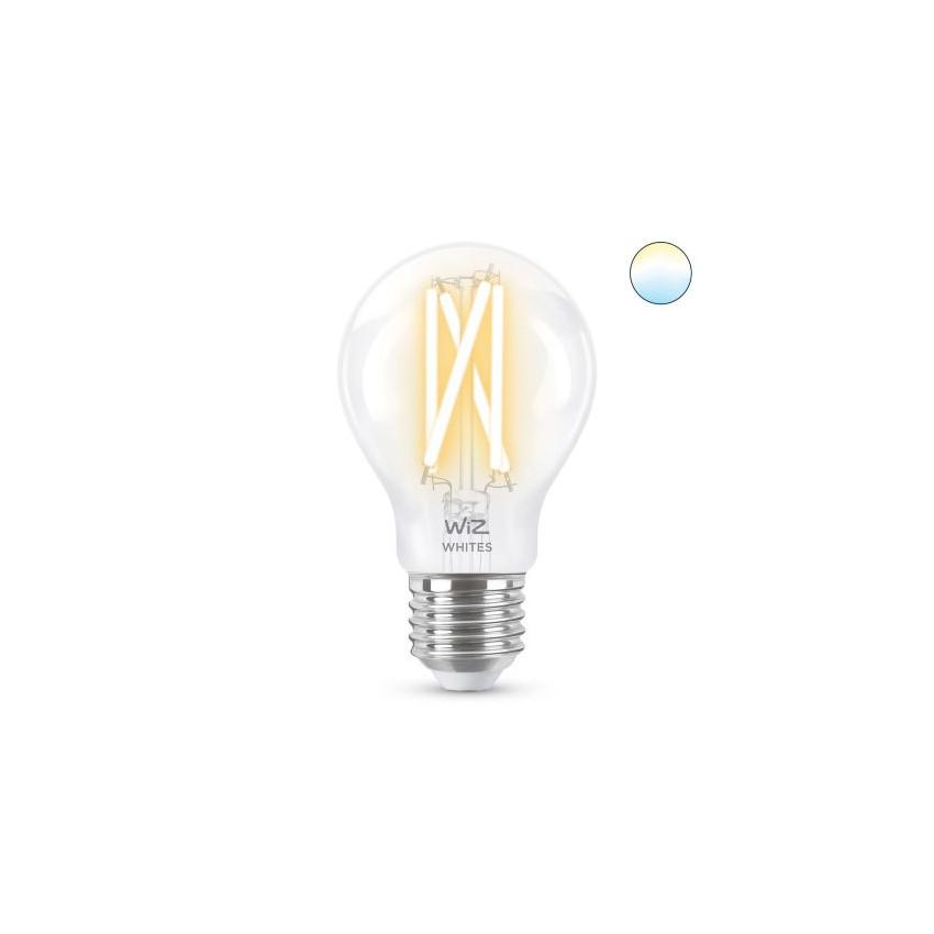 Lâmpada LED Smart WiFi E27 A60 CCT Regulável WIZ Filamento 6.7W