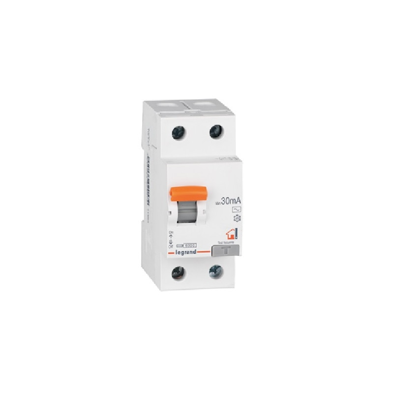 Interruptor Diferencial RX3 Residencial 2P-30mA Clase A Superinmunizado 25-40 A LEGRAND 402059