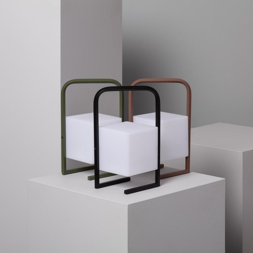 Lámpara de Mesa LED Portátil Tiber 2.5W para Exterior con Batería USB Recargable