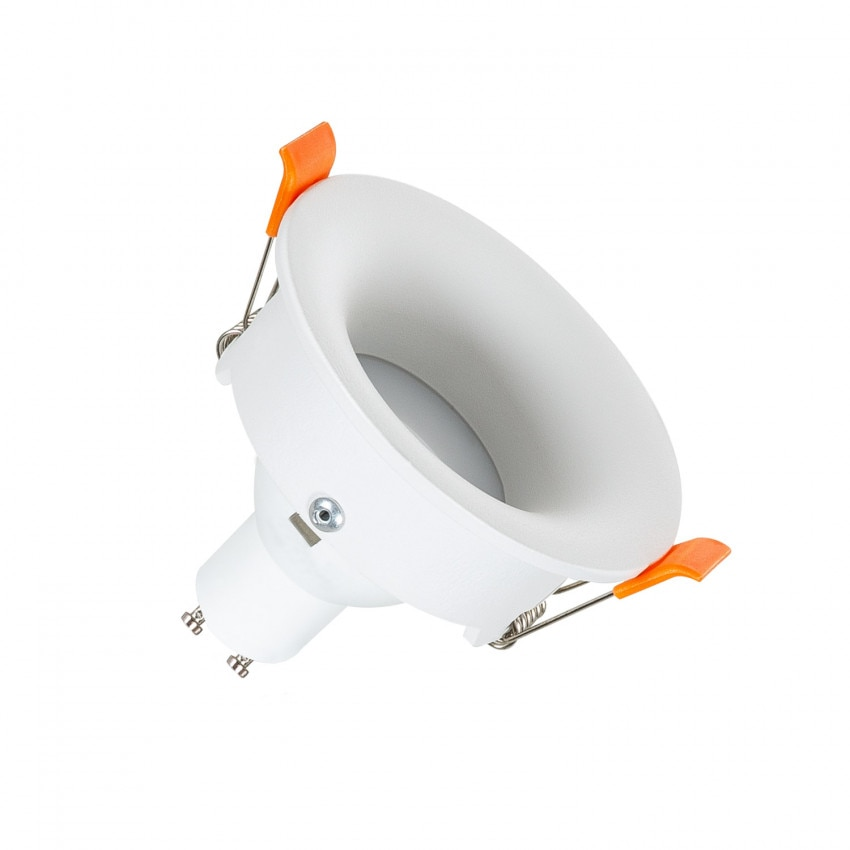 Foco Downlight GU10 6W Corte Ø 70 mm Luz Indirecta