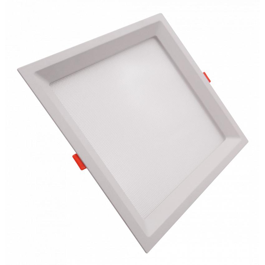 Placa LED 10W CCT Seleccionable Cuadrado Slim LIFUD (UGR17) Corte 110x110 mm