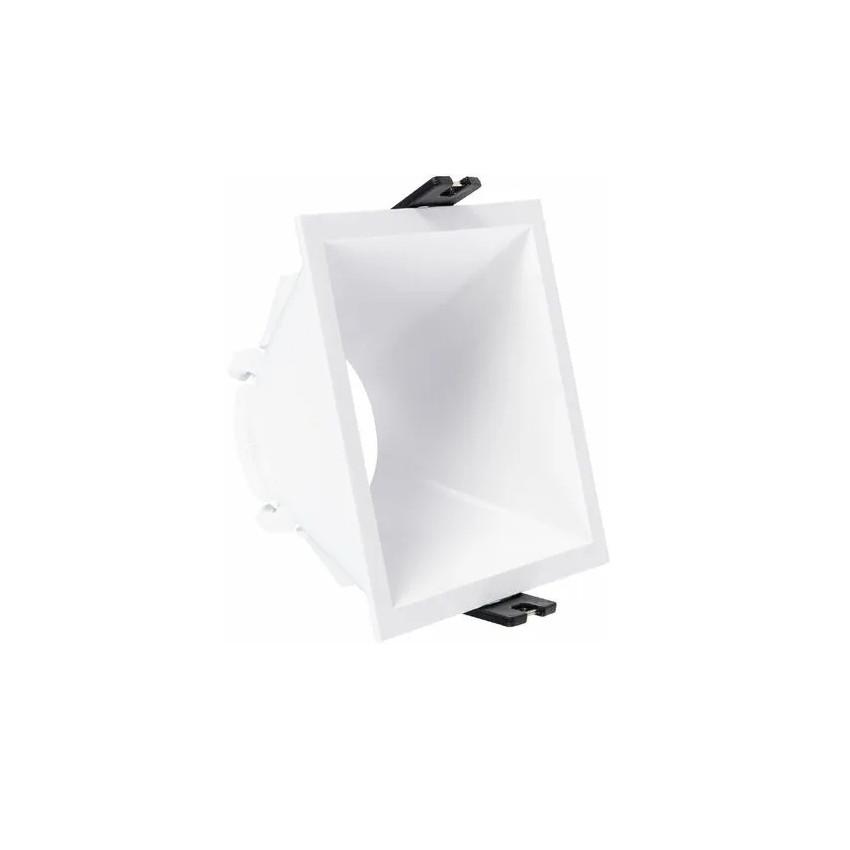 Aro Downlight Cuadrado Bajo UGR PC para Bombilla LED GU10