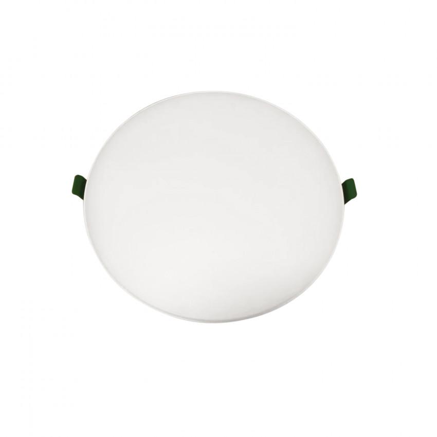 Placa LED 18W CCT Seleccionable Circular Slim Surface (UGR19) Corte Ø155 mm IP54
