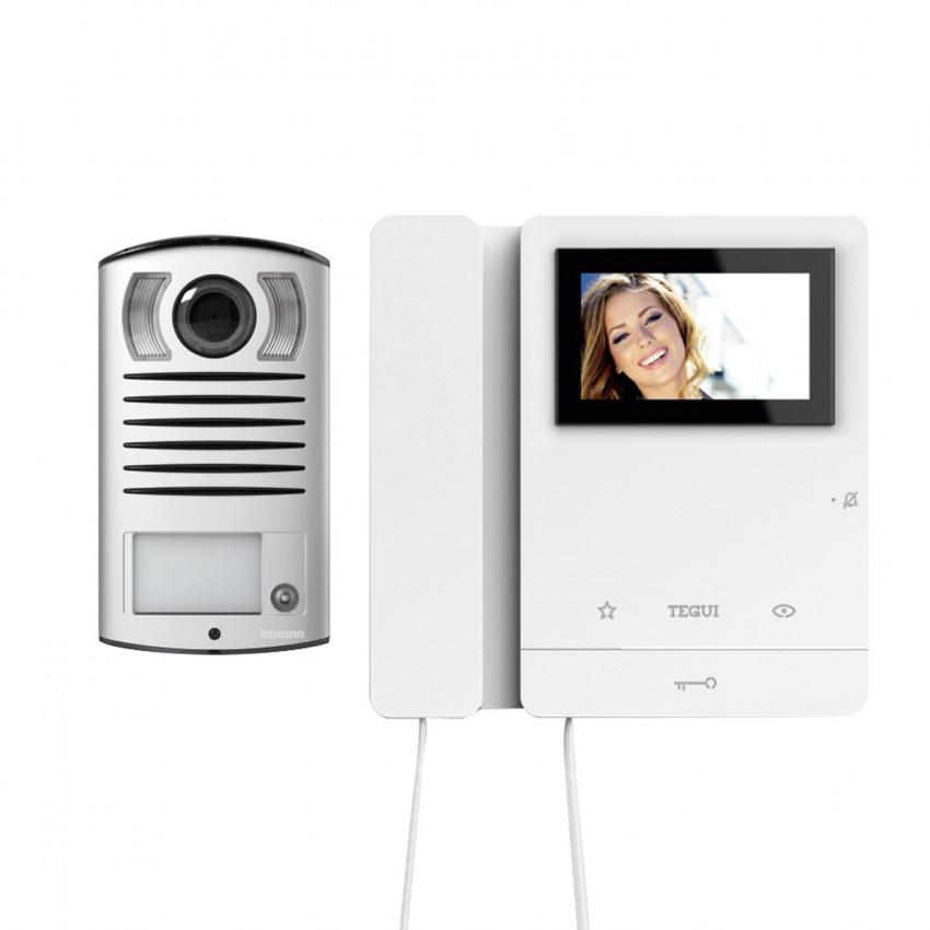 Kit Videoportero 1 Vivienda 2 Hilos con Placa LINEA 2000 y Monitor Serie 8 TEGUI 378121