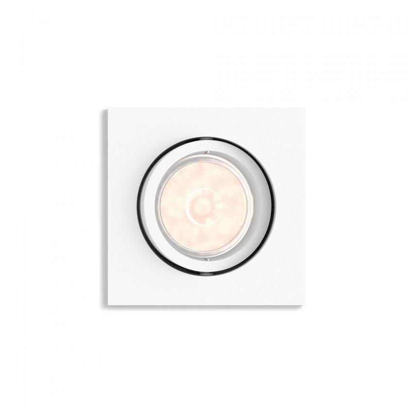 Foco Downlight Cuadrado PHILIPS Enneper Corte 70x70 mm