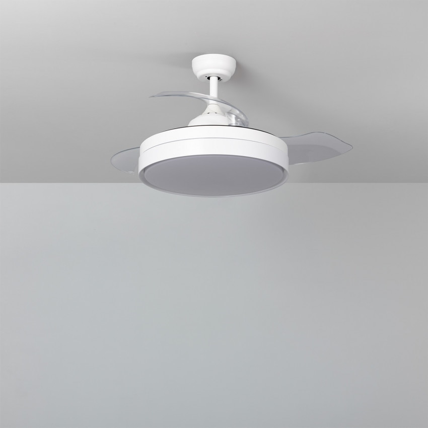 Ventilador de Techo LED Dalori Blanco 106cm Motor DC