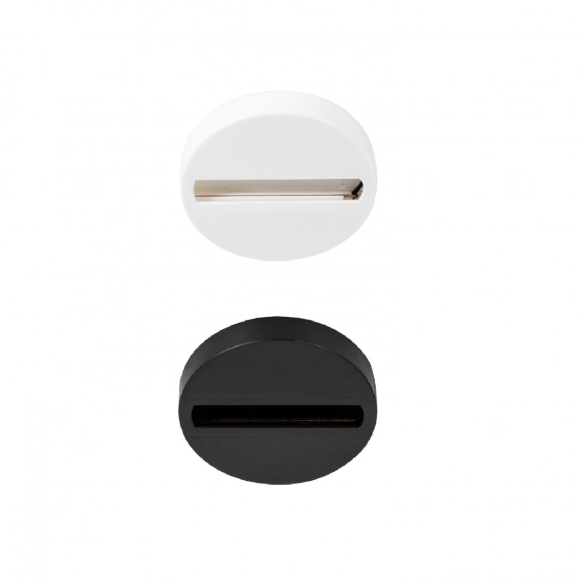 Kit de Superficie Circular para Foco de Carril Monofásico