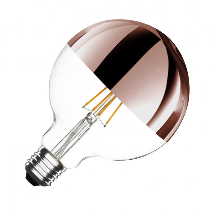 Lâmpada LED E27 Regulável Filamento Cooper Reflect Supreme G125 6W