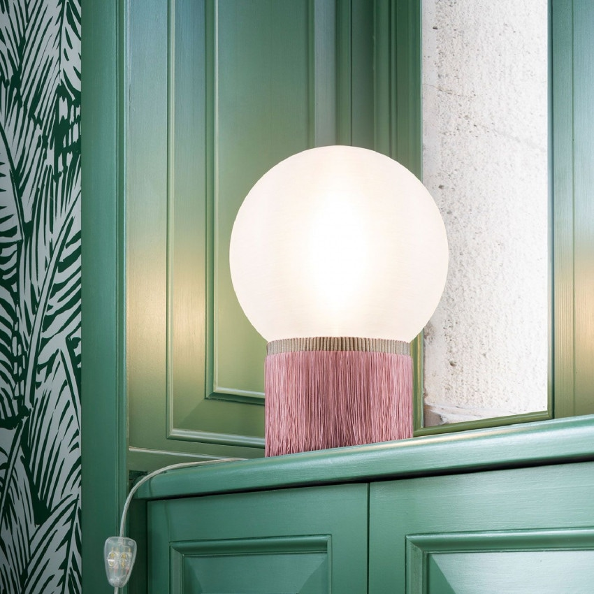 Lámpara de Mesa SLAMP Atmosfera Fringe Table Medium
