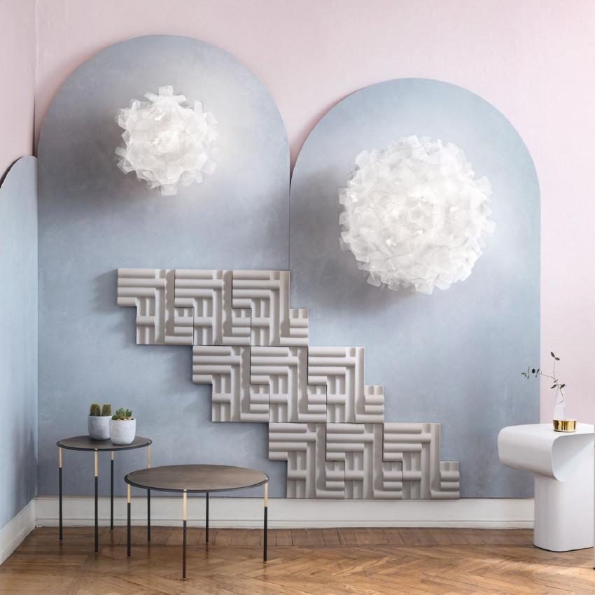 Aplique de Pared SLAMP Clizia Ceiling/Wall Mini Pixel