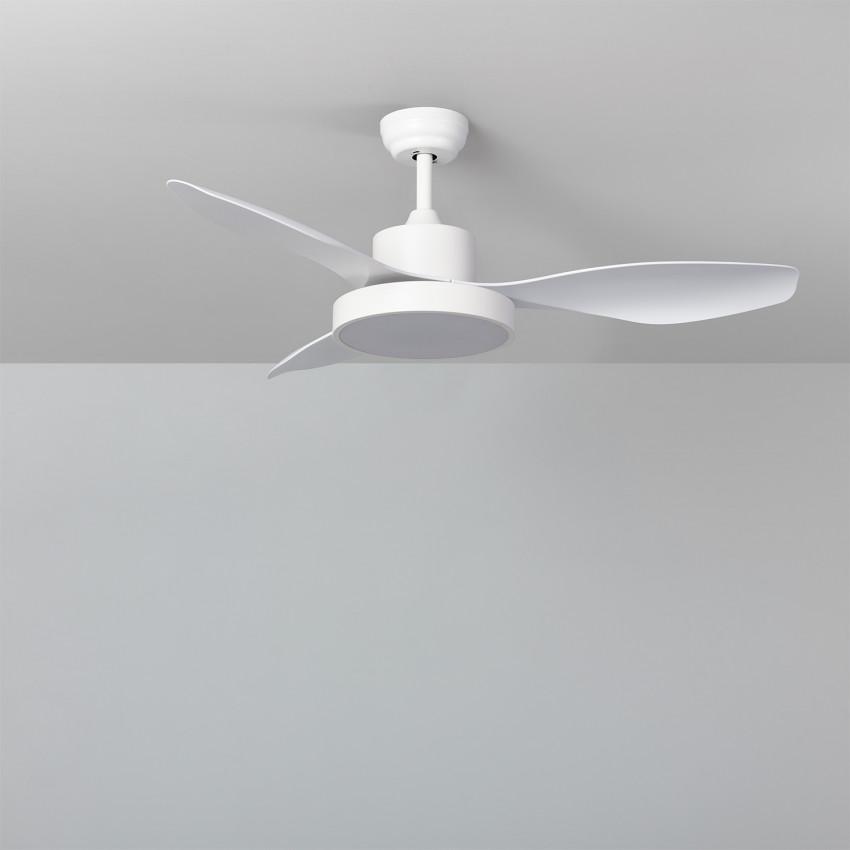 Ventilador de Techo LED Caspio Blanco 121cm Motor DC