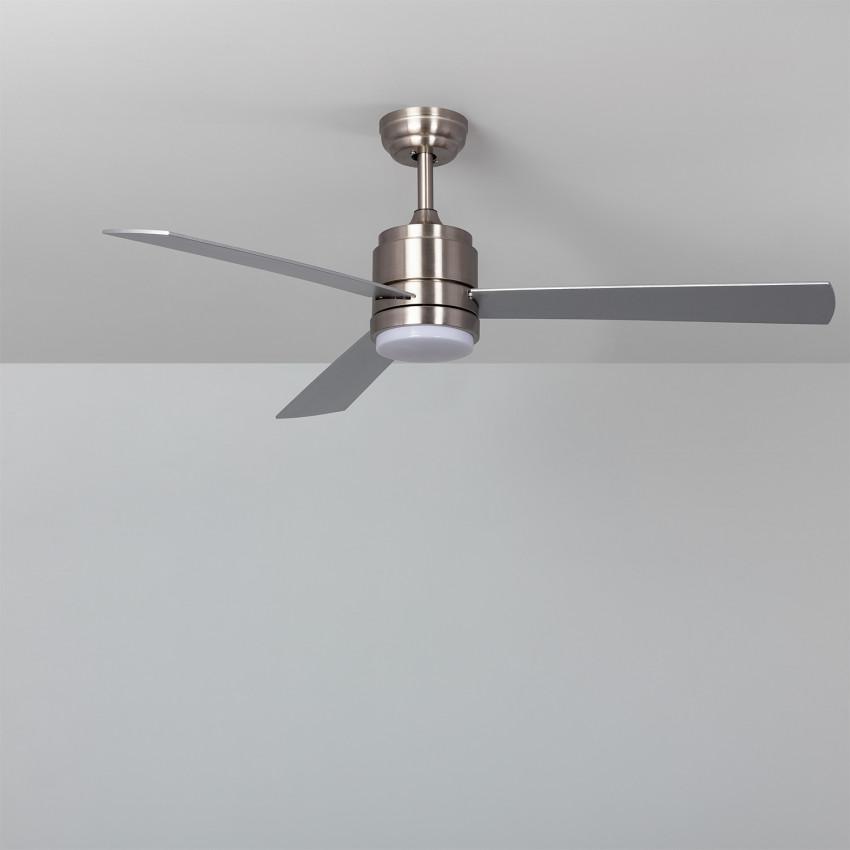 Ventilador de Techo LED Atlantis Niquel 132cm Motor DC